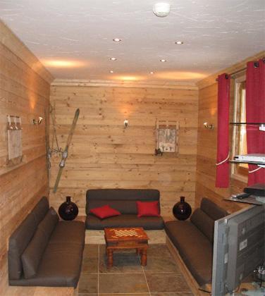 Location au ski Chalet 7 pièces 12 personnes (Eden) - Chalets Les Varcins Luxe - Saint Martin de Belleville - Séjour