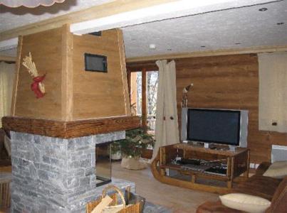 Location au ski Chalet 7 pièces 12 personnes (La Licorne) - Chalets Les Varcins Luxe - Saint Martin de Belleville - Séjour