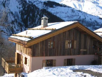 Location au ski Chalet 7 pièces 12 personnes (La Licorne) - Chalets Les Varcins Luxe - Saint Martin de Belleville - Extérieur hiver