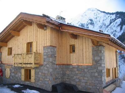 Location au ski Chalet 7 pièces 12 personnes (Eden) - Chalets Les Varcins Luxe - Saint Martin de Belleville - Extérieur hiver