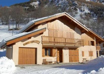 Location au ski Chalets Violettes - Saint Martin de Belleville - Extérieur hiver