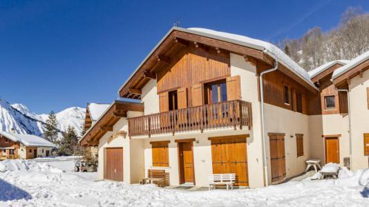 Vacances en montagne Chalets Violettes - Saint Martin de Belleville - Extérieur hiver