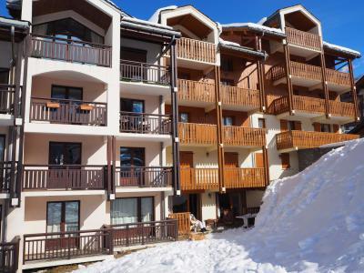 Rent in ski resort La Résidence Altitude - Saint Martin de Belleville - Winter outside