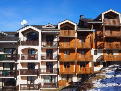 Location au ski La Résidence Altitude - Saint Martin de Belleville - Extérieur hiver