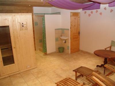 Location au ski Le Chalet Mimosa - Saint Martin de Belleville - Sauna