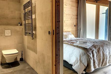 Rent in ski resort 4 room triplex chalet 6 people (Carcosa) - Le Hameau de Caseblanche - Saint Martin de Belleville - Bedroom
