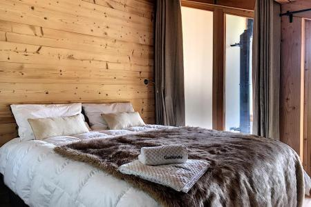 Rent in ski resort 4 room triplex chalet 6 people (Carcosa) - Le Hameau de Caseblanche - Saint Martin de Belleville - Double bed