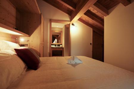 Rent in ski resort 4 room triplex chalet 6 people (Coron) - Le Hameau de Caseblanche - Saint Martin de Belleville - Cabin
