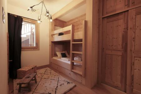 Rent in ski resort 4 room triplex chalet 6 people (Léa) - Le Hameau de Caseblanche - Saint Martin de Belleville - Bunk beds