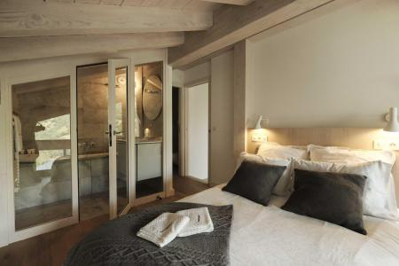 Rent in ski resort 4 room triplex chalet 6 people (Retreat) - Le Hameau de Caseblanche - Saint Martin de Belleville - Cabin