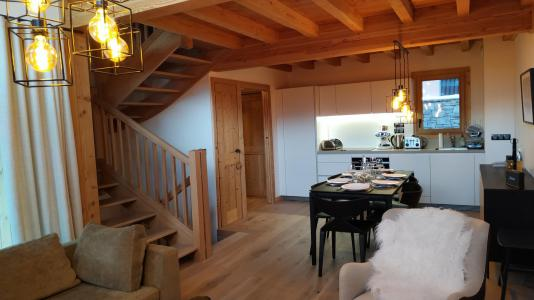 Rent in ski resort 4 room triplex chalet 6 people (Selini) - Le Hameau de Caseblanche - Saint Martin de Belleville - Apartment