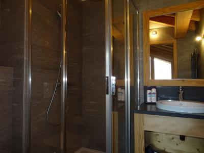 Rent in ski resort 4 room triplex chalet 6 people (Suzan) - Le Hameau de Caseblanche - Saint Martin de Belleville - Shower