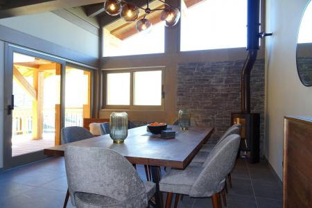 Rent in ski resort 5 room quadriplex chalet 8 people (Augustine) - Le Hameau de Caseblanche - Saint Martin de Belleville - Living room