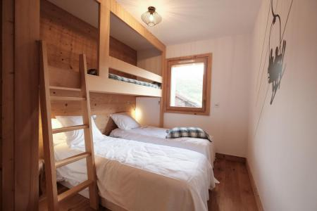 Rent in ski resort 5 room triplex chalet 8 people (Eceel) - Le Hameau de Caseblanche - Saint Martin de Belleville - Bedroom