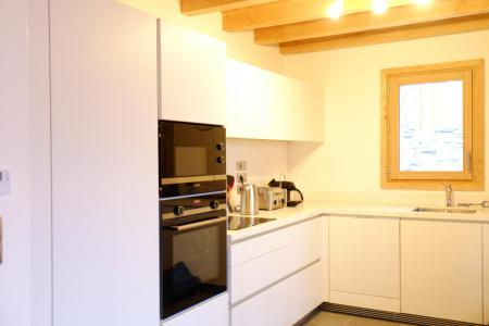 Rent in ski resort 5 room triplex chalet 8 people (Eceel) - Le Hameau de Caseblanche - Saint Martin de Belleville - Kitchenette