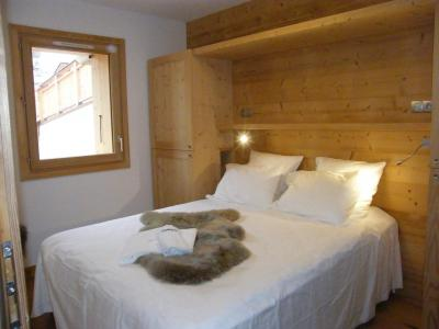 Rent in ski resort 5 room triplex chalet 8 people (Landenoire) - Le Hameau de Caseblanche - Saint Martin de Belleville - Double bed