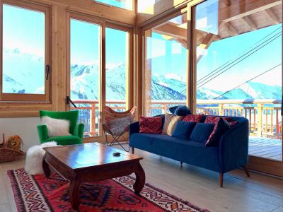Rent in ski resort 5 room triplex chalet 8 people (Pomme de Pin) - Le Hameau de Caseblanche - Saint Martin de Belleville - Table