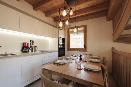 Rent in ski resort 5 room triplex chalet 8 people (Retrouvailles) - Le Hameau de Caseblanche - Saint Martin de Belleville - Kitchen
