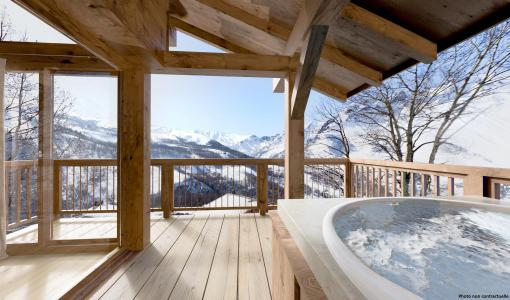 Rent in ski resort Le Hameau de Caseblanche - Saint Martin de Belleville - Winter outside