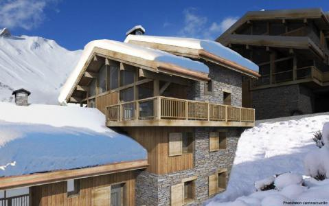 Rent in ski resort 4 room triplex chalet 6 people (Léa) - Le Hameau de Caseblanche - Saint Martin de Belleville - Winter outside