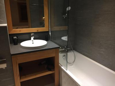 Rent in ski resort 6 room quadriplex chalet 10 people (Monte Corona) - Le Hameau de Caseblanche - Saint Martin de Belleville - Bath-tub