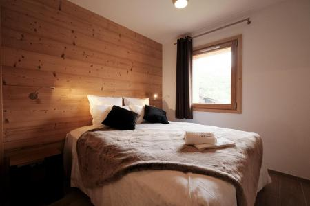 Rent in ski resort 6 room quadriplex chalet 10 people (Monte Corona) - Le Hameau de Caseblanche - Saint Martin de Belleville - Bedroom