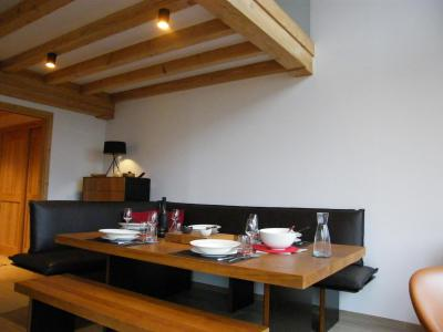 Rent in ski resort 6 room quadriplex chalet 10 people (Monte Corona) - Le Hameau de Caseblanche - Saint Martin de Belleville - Living room