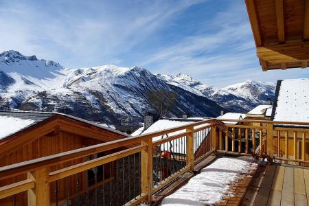 Rent in ski resort 6 room triplex chalet 10 people (Peak a Vue) - Le Hameau de Caseblanche - Saint Martin de Belleville - Bedroom