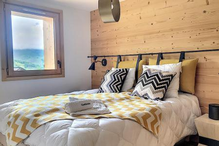 Rent in ski resort 6 room triplex chalet 12 people (Ibis Viperae) - Le Hameau de Caseblanche - Saint Martin de Belleville - Bedroom