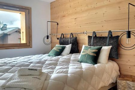 Rent in ski resort 6 room triplex chalet 12 people (Ibis Viperae) - Le Hameau de Caseblanche - Saint Martin de Belleville - Double bed