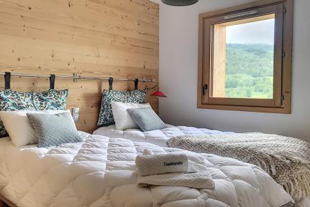 Rent in ski resort 6 room triplex chalet 12 people (Ibis Viperae) - Le Hameau de Caseblanche - Saint Martin de Belleville - Single bed