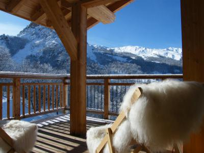 Rent in ski resort A293 - Le Hameau de Caseblanche - Saint Martin de Belleville - Winter outside