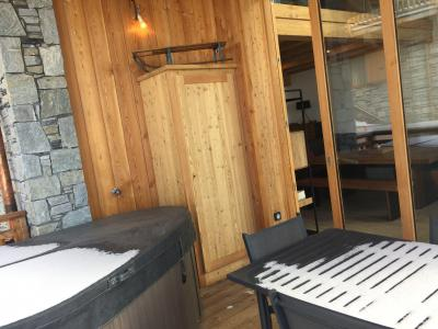 Rent in ski resort 6 room quadriplex chalet 10 people (Monte Corona) - Le Hameau de Caseblanche - Saint Martin de Belleville - Winter outside