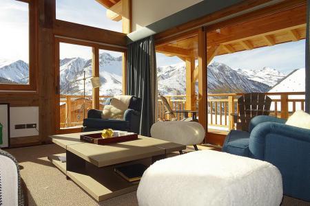 Rent in ski resort 6 room triplex chalet 10 people (Peak a Vue) - Le Hameau de Caseblanche - Saint Martin de Belleville