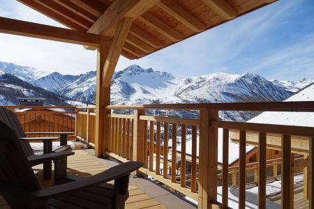 Rent in ski resort 6 room triplex chalet 10 people (Peak a Vue) - Le Hameau de Caseblanche - Saint Martin de Belleville - Winter outside