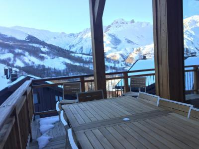 Rent in ski resort 5 room triplex chalet 8 people (Eceel) - Le Hameau de Caseblanche - Saint Martin de Belleville - Winter outside
