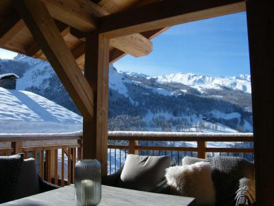 Rent in ski resort 5 room quadriplex chalet 8 people (Augustine) - Le Hameau de Caseblanche - Saint Martin de Belleville - Winter outside