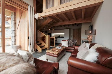 Rent in ski resort 4 room triplex chalet 6 people (Carcosa) - Le Hameau de Caseblanche - Saint Martin de Belleville