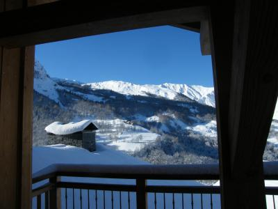 Rent in ski resort 4 room triplex chalet 6 people (Selini) - Le Hameau de Caseblanche - Saint Martin de Belleville - Winter outside