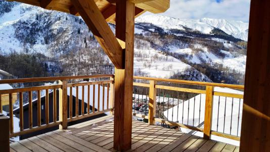Rent in ski resort 4 room triplex chalet 6 people (Serendipity) - Le Hameau de Caseblanche - Saint Martin de Belleville