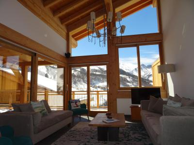 Rent in ski resort 7 room duplex chalet 12 people (Bouc Blanc) - Le Hameau de Caseblanche - Saint Martin de Belleville - Bench seat