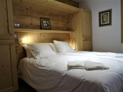 Rent in ski resort 7 room duplex chalet 12 people (Bouc Blanc) - Le Hameau de Caseblanche - Saint Martin de Belleville - Double bed