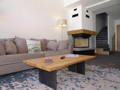 Rent in ski resort 7 room duplex chalet 12 people (Bouc Blanc) - Le Hameau de Caseblanche - Saint Martin de Belleville - Fireplace