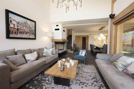 Rent in ski resort 7 room duplex chalet 12 people (Bouc Blanc) - Le Hameau de Caseblanche - Saint Martin de Belleville - Settee