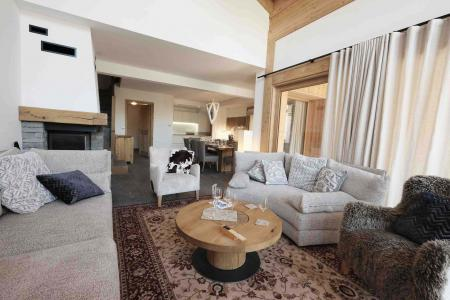 Rent in ski resort 7 room triplex chalet 12 people (Myriel) - Le Hameau de Caseblanche - Saint Martin de Belleville - Fireplace
