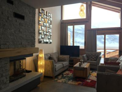 Rent in ski resort 7 room triplex chalet 12 people (Tawny) - Le Hameau de Caseblanche - Saint Martin de Belleville - Fireplace