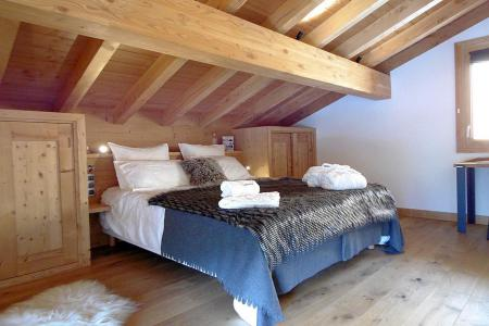 Rent in ski resort 7 room triplex chalet 14 people (Haleakala) - Le Hameau de Caseblanche - Saint Martin de Belleville - Double bed