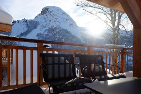Rent in ski resort 7 room triplex chalet 14 people (Haleakala) - Le Hameau de Caseblanche - Saint Martin de Belleville - Terrace