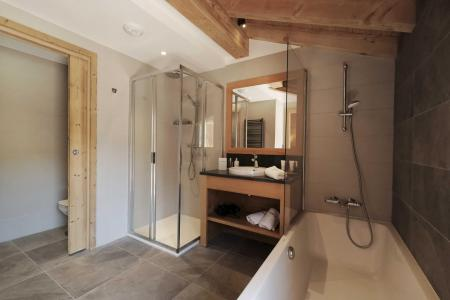 Rent in ski resort 8 room quadriplex chalet 14 people (Allium) - Le Hameau de Caseblanche - Saint Martin de Belleville - Bath-tub