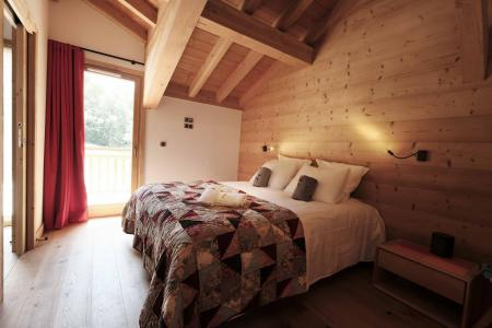 Rent in ski resort 8 room quadriplex chalet 14 people (Allium) - Le Hameau de Caseblanche - Saint Martin de Belleville - Double bed